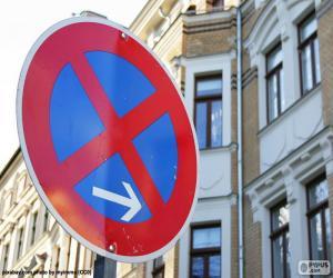 Układanka Stop i parkingu zabronione