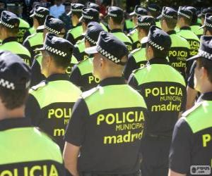 Układanka Straż Miejska, Madryt