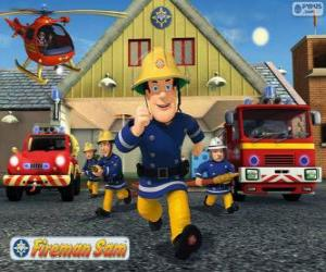 Układanka Strażacy Pontypandy