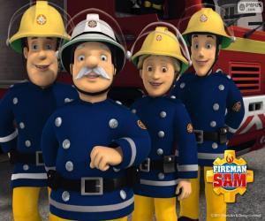 Układanka Strażacy z Pontypandy