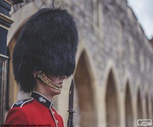 Układanka Strażnik królowej, Londyn