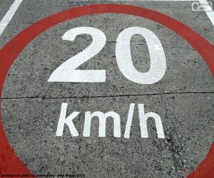 Układanka Strefa 20 km/h