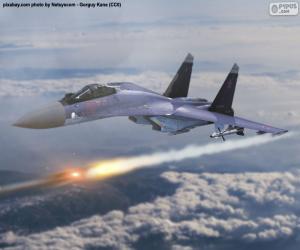 Układanka Suchoj Su-35