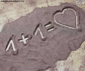 Układanka Suma sprawia, że miłość