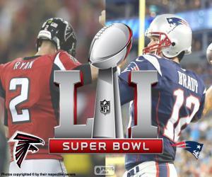 Układanka Super Bowl 2017