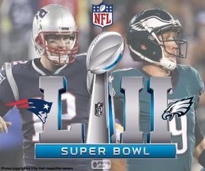 Układanka Super Bowl 2018