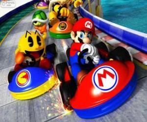 Układanka Super Mario Kart
