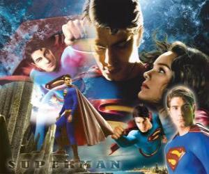 Układanka Superman i Lois Lane