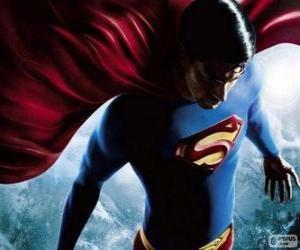 Układanka Superman, jeden z najsłynniejszych superbohaterów