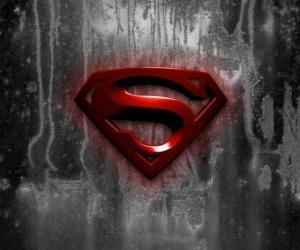 Układanka Superman Logo