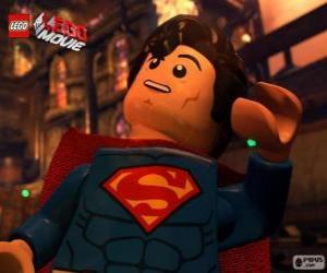 Układanka Superman superbohater z filmu Lego