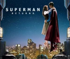 Układanka Superman z Lois Lane