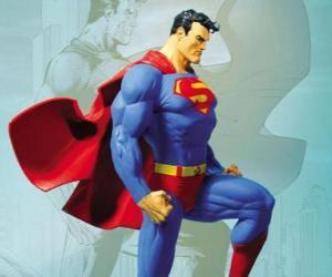 Układanka Superman