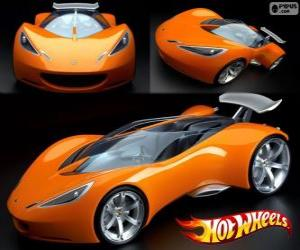 Układanka Supersamochód Hot Wheels