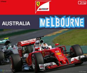 Układanka S.Vettel G.P Australia 2016