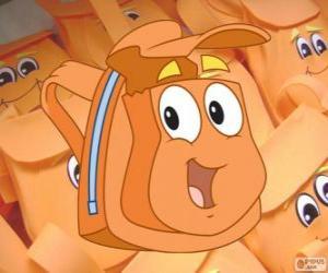 Układanka Sympatyczny magiczny plecak z Diego