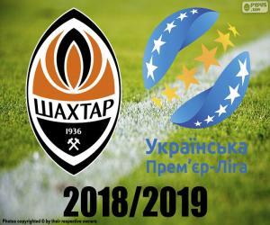 Układanka Szachtar Donieck, mistrz 2018 2019