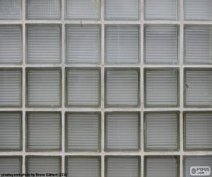 Układanka Szklane ściany bloku