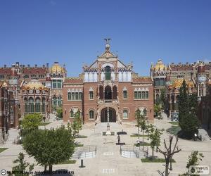 Układanka Szpital św. Pawła w Barcelonie