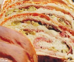 Układanka Szynka chleb, Wenezuela