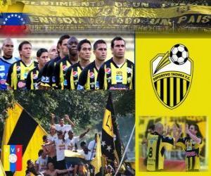 Układanka Táchira Deportivo Fútbol Club Champion Torneo Apertura 2010 (Wenezuela)
