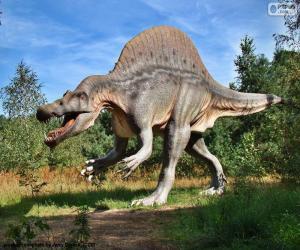 Układanka T-Rex dinozaura