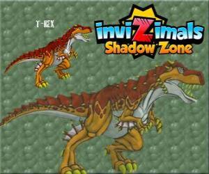 Układanka T-Rex. Invizimals Następny wymiar. Potężny T-Rex jest Invizimala dinozaurów