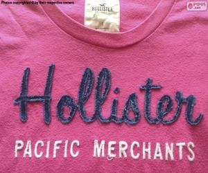 Układanka T-shirt z hollisterem