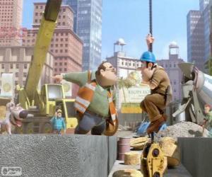 Układanka Tad, marzycielski murarz