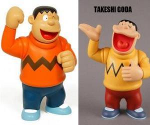 Układanka Takeshi Goda znany przez kolegów jako Jyian, bo jest duży i silny chłopiec