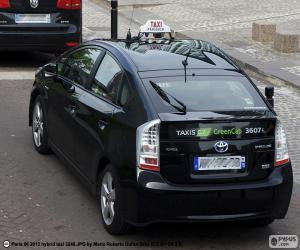 Układanka Taksówka z Paryża