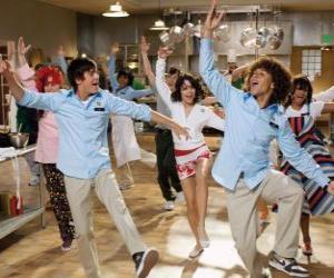 Układanka Taniec w kuchni