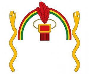 Układanka Tarcza Imperium Inków, Tawantinsuyu w języku keczua