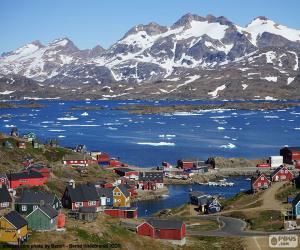 Układanka Tasiilaq, Grenlandia