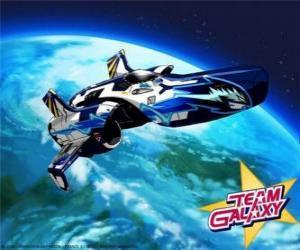 Układanka Team Galaxy kosmiczne jest Hornet