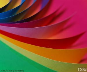 Układanka Tektury kolory
