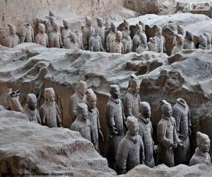 Układanka Terakotowa Armia, Chiny