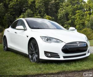 Układanka Tesla Model S