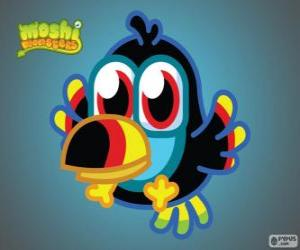 Układanka Tiki jest Moshlings, Tukany. Zestaw birdies
