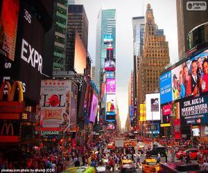 Układanka Times Square, Nowy Jork
