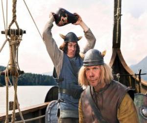 Układanka Tjure o złamać Wazon na głowie Snorre