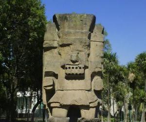 Układanka Tlatoc, boga deszczu i płodności, jest zakorzeniona w kulturze Teootihuacan