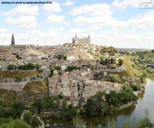 Układanka Toledo, Hiszpania