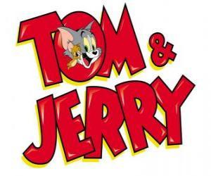 Układanka Tom i Jerry