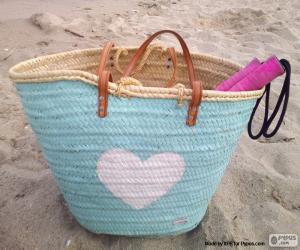 Układanka Torba na plaży