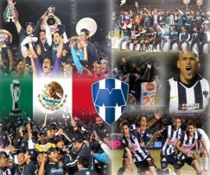 Układanka Torneo Apertura CF Monterrey 2010 Champion