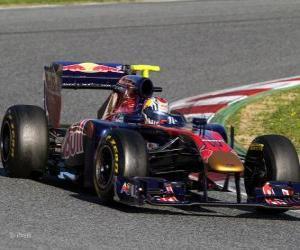 Układanka Toro Rosso STR6 - 2011 -