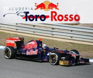 Układanka Toro Rosso STR7 - 2012 -