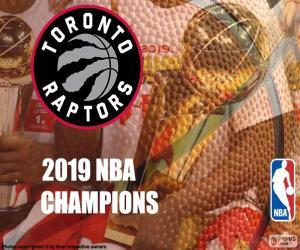 Układanka Toronto Raptors, Mistrzowie NBA 2019