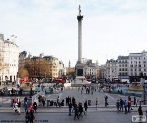 Układanka Trafalgar Square, Londyn